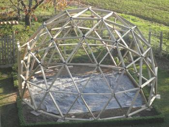 Fabriquer un d me g od sique - Plan construction serre jardin ...